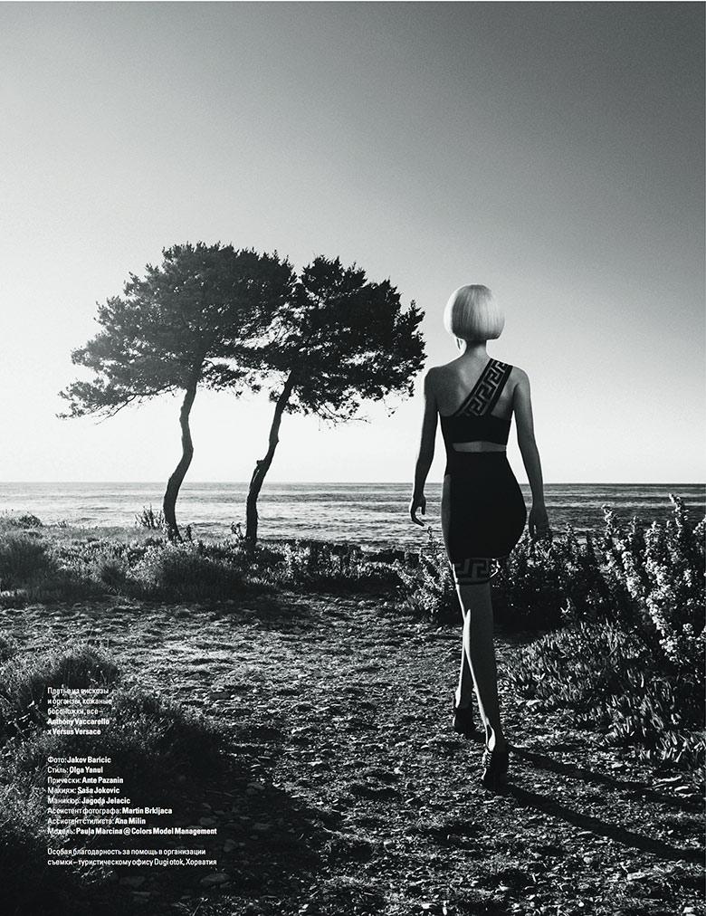 Photo Paula Marcina by Jakov Baricic for Vogue Ukraine May 2015