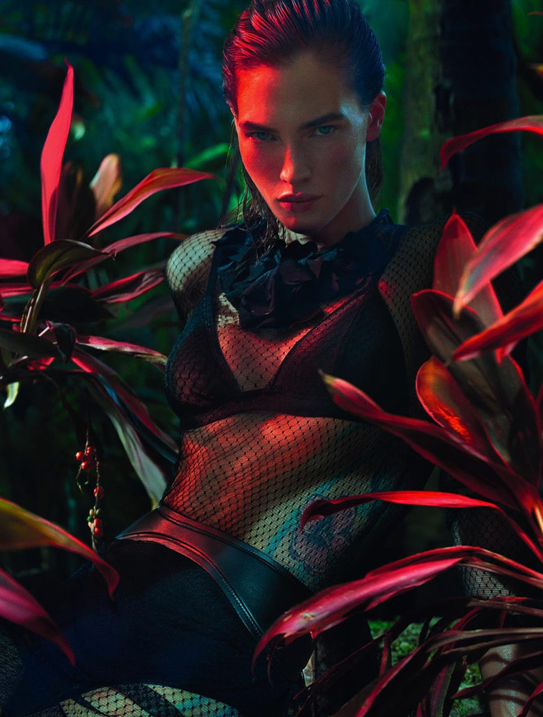 Photo Crista Cober by Txema Yeste for Numero August 2015