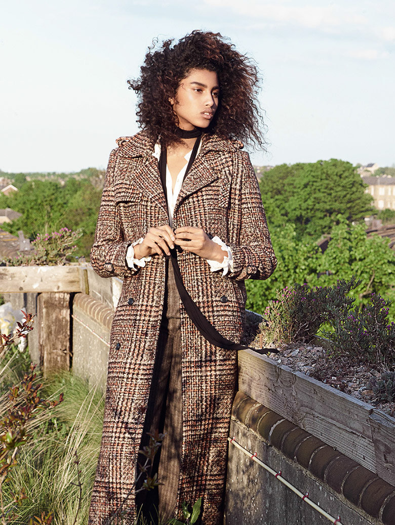 Photo Imaan Hammam for Vogue UK August 2015