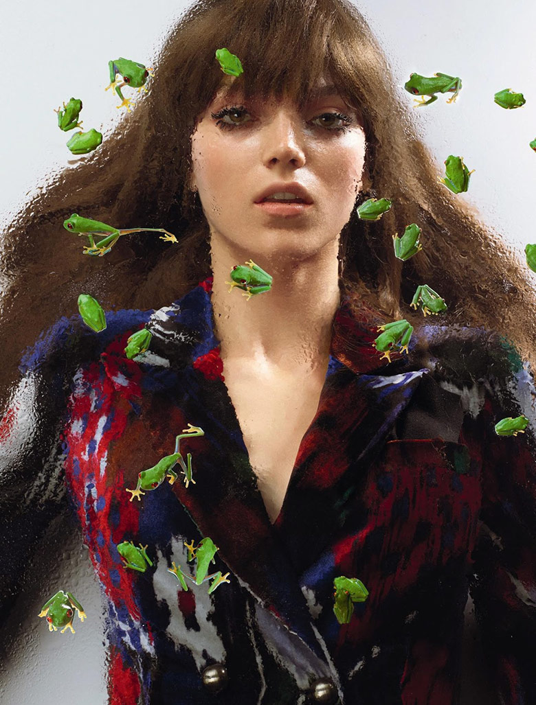 Photo Jenna Earle by Cuneyt Akeroglu for Numero August 2015