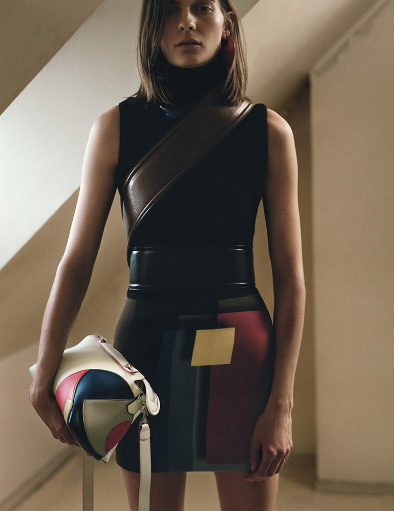 Photo Karolin Wolter by Zoe Ghertner for Vogue UK August 2015