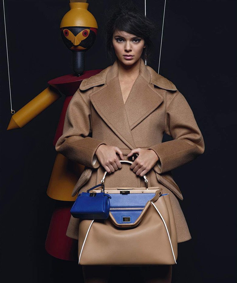 Photo Kendall Jenner for Fendi Fall Winter 2015 2016