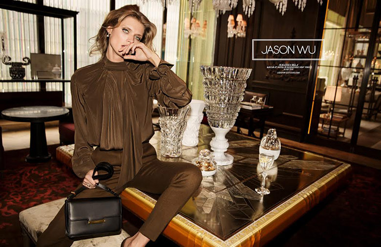 Photo Malgosia Bela for Jason Wu Fall 2015 Campaign