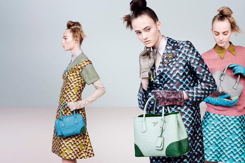 Photo Prada Fall/Winter 2015/16 by Steven Meisel