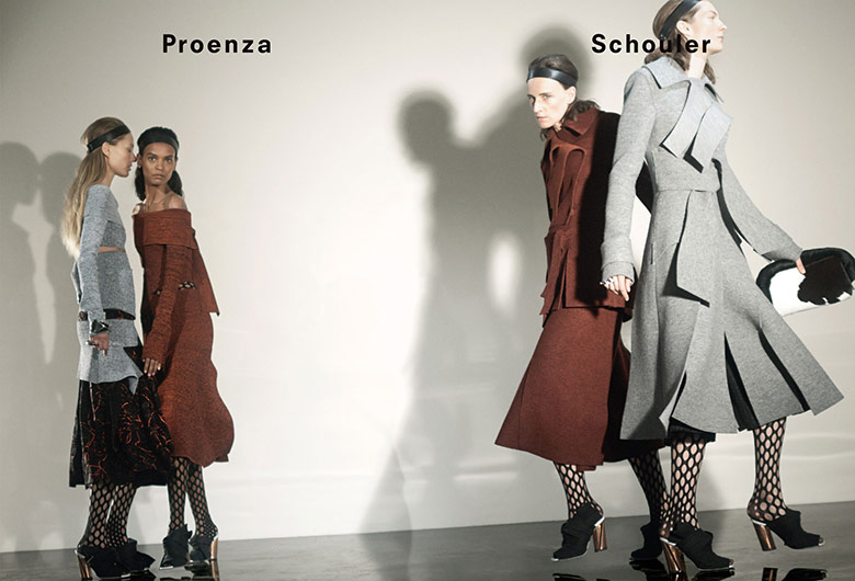 Photo Proenza Schouler Fall/Winter 2015/2016