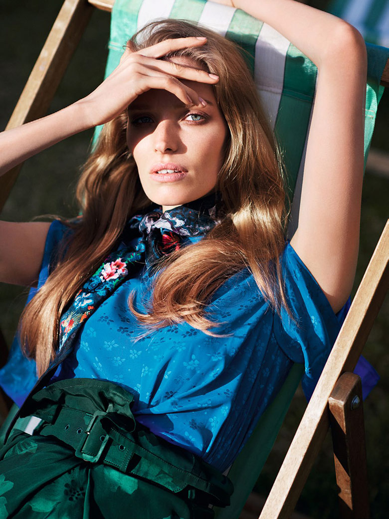 Photo Alisa Ahmann for Vogue China Collections August 2015