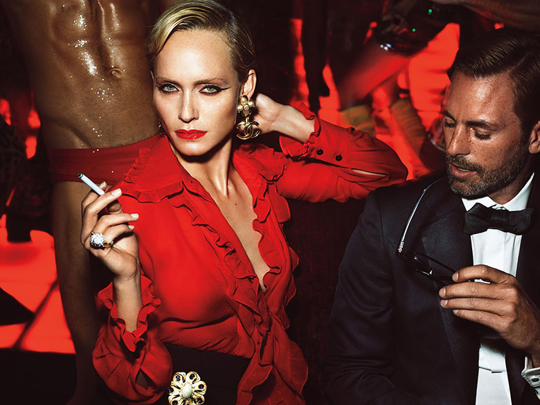 Photo 'La Secret Party' by Mert & Marcus for W Magazine September 2015