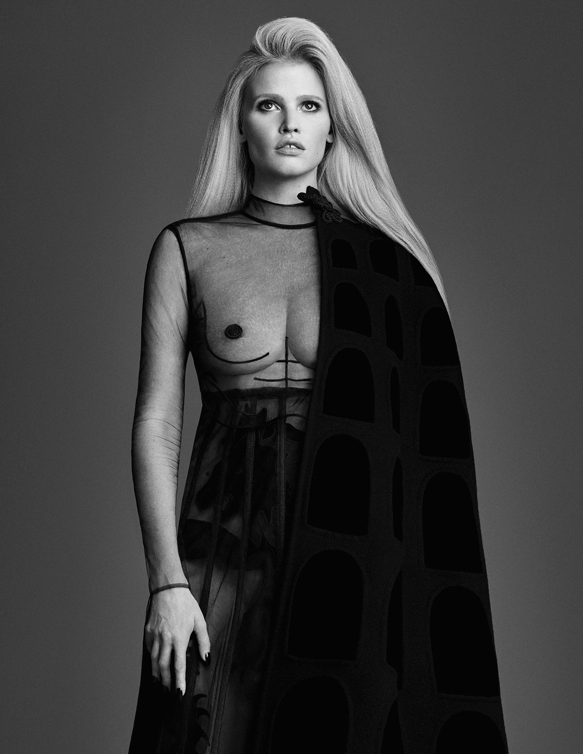 Photo Lara Stone for W Korea September 2015