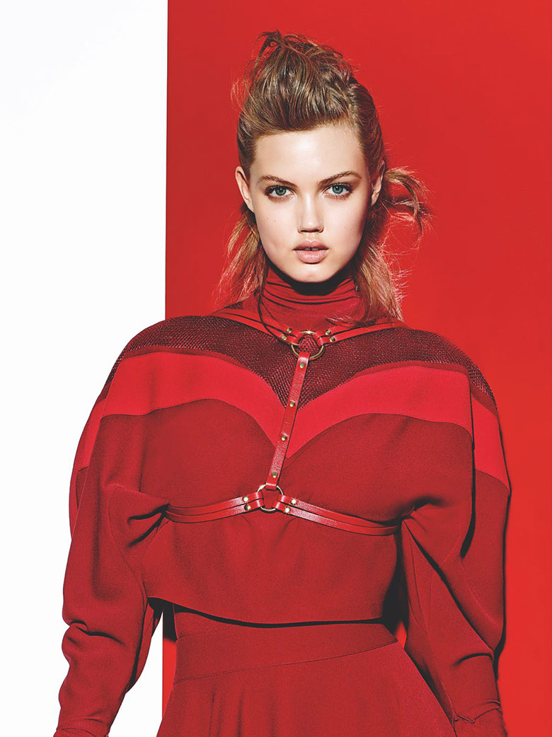 Photo Lindsey Wixson by Richard Burbridge for Vogue Turkey August 2015