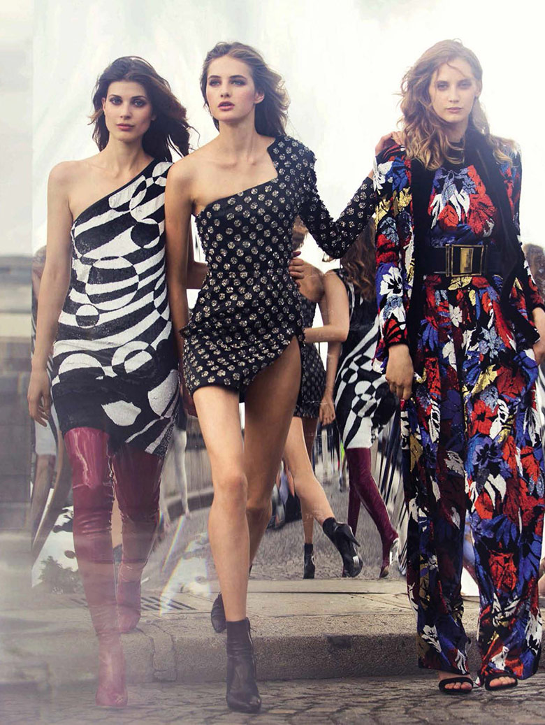 Photo Melina Gesto, Larissa Hofmann & Sanne Vloet for Vogue Spain September 2015