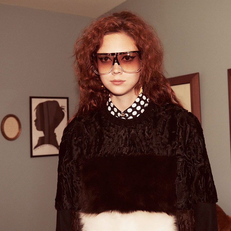 Photo Natalie Westling by Glen Luchford for Vogue Paris September 2015