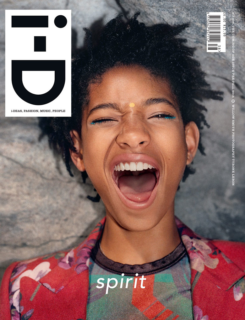 Photo Willow Smith for i D Magazine Pre Fall 2015