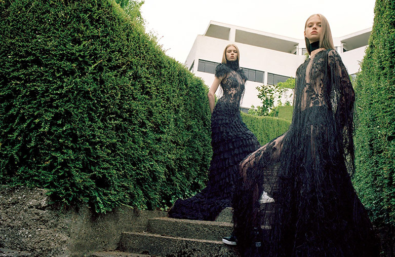 Photo Avery Blanchard, Katya Ledneva & Eva Klimkova for Vogue Japan October 2015