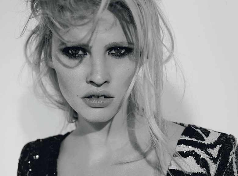 Photo Lara Stone by Richard Bush for L'Express Styles September 2015