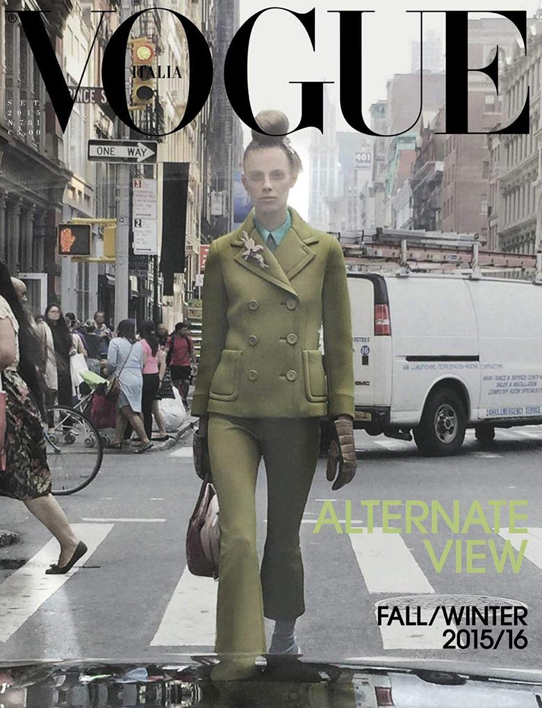 Photo Lexi Boling by Steven Meisel for Vogue Italia September 2015