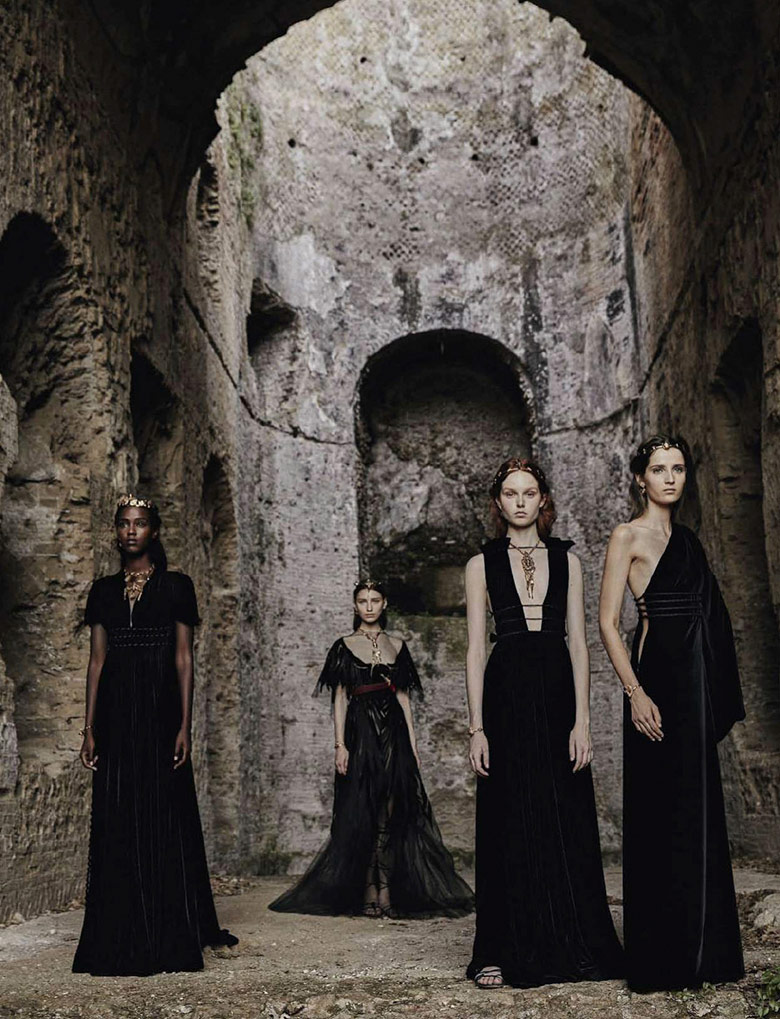 Photo Valentino by Fabrizio Ferri for Vogue September Italia