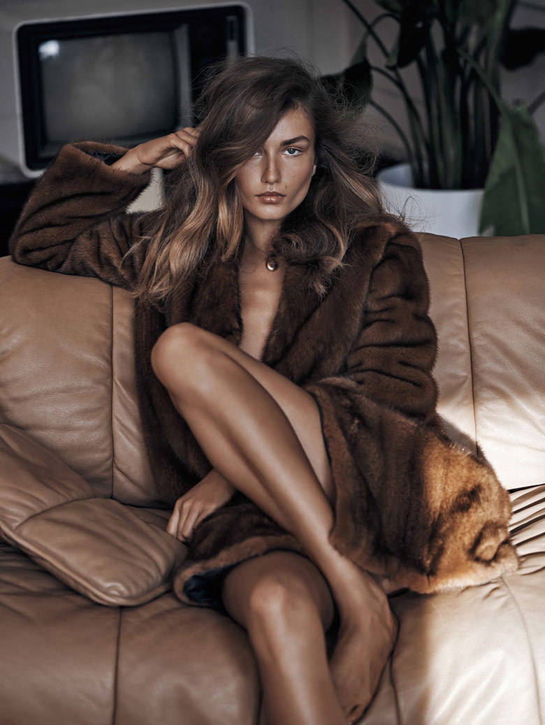 Photo Andreea Diaconu by Lachlan Bailey for Vogue China November 2015