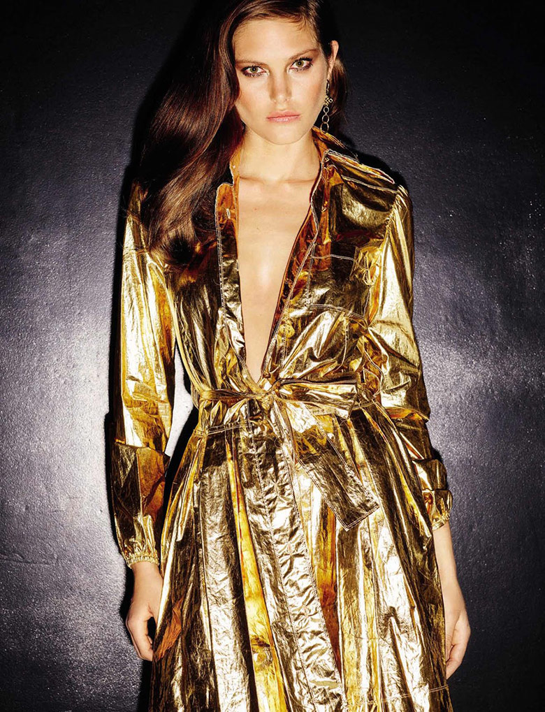 Photo Catherine McNeil by Ezra Petronio for Vogue Spain November 2015