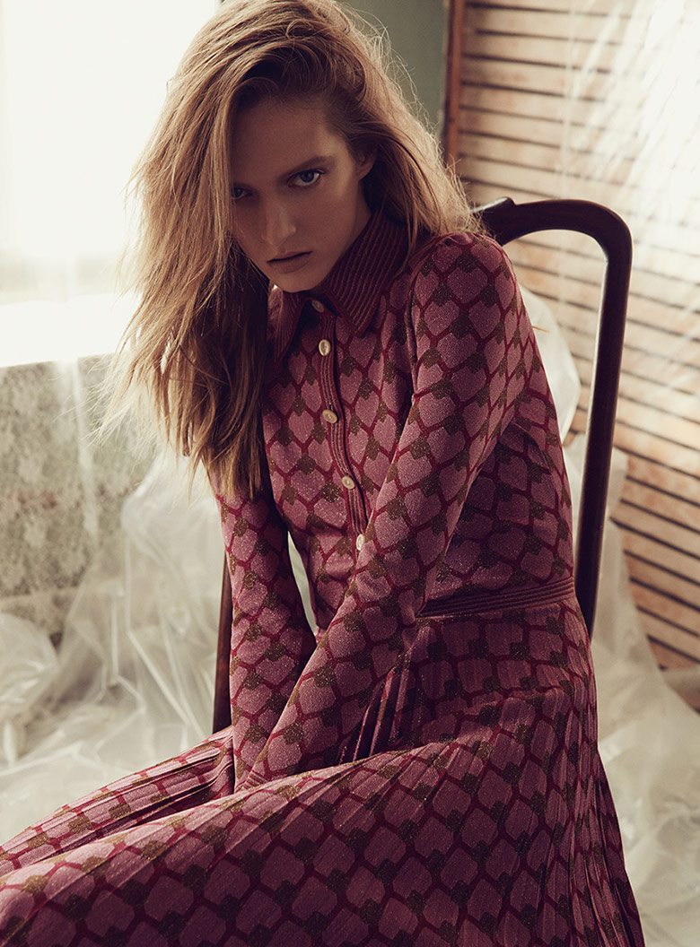 Photo Daria Strokous by David Roemer for S Moda November 2015