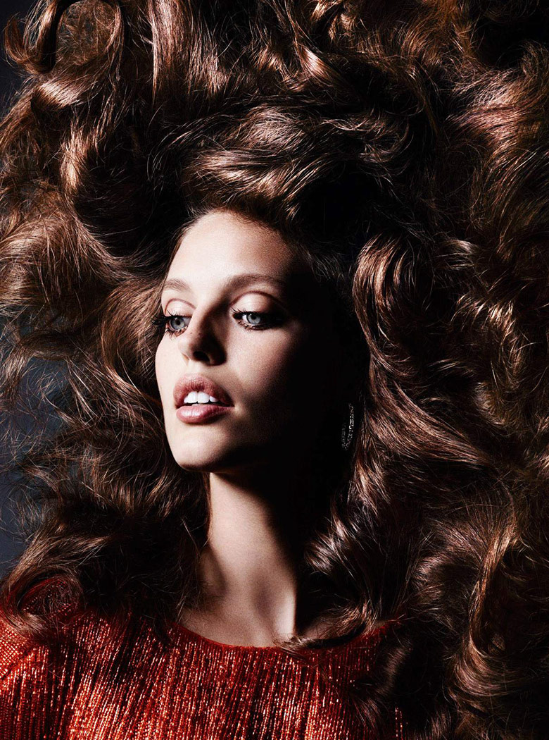 Photo Emily Didonato by Ben Hassett for Vogue Paris November 2015