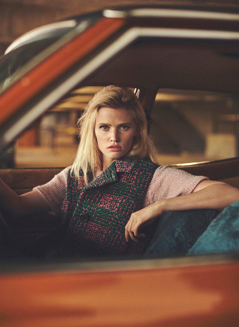 Photo Lara Stone by Emma Tempest for Russh Magazine 66
