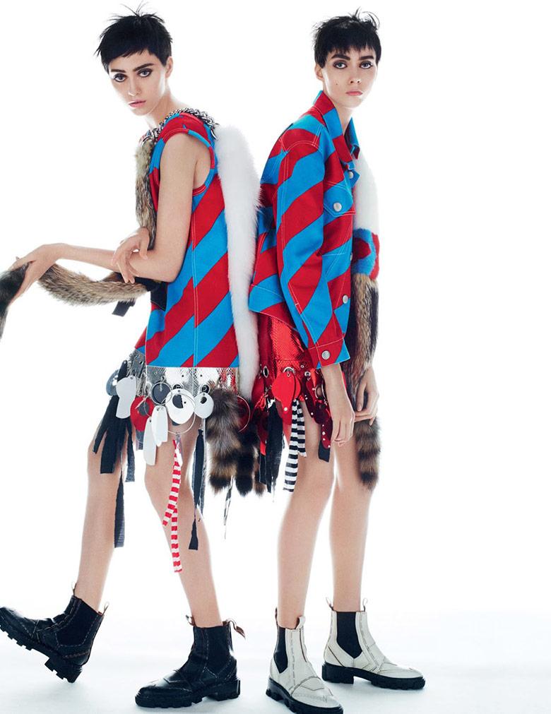 Photo Lia Pavlova & Odette Pavlova for Vogue Russia November 2015