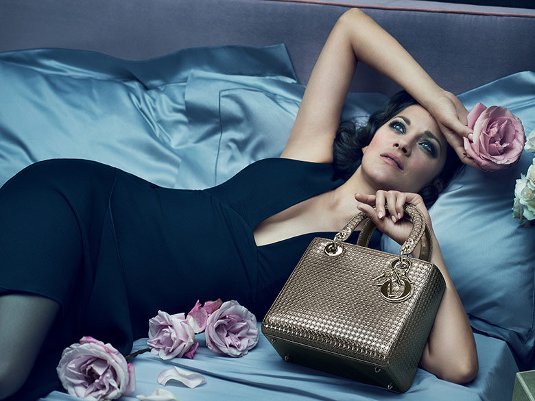 Photo Marion Cotillard by Mert & Marcus for 'Lady Dior' 2015