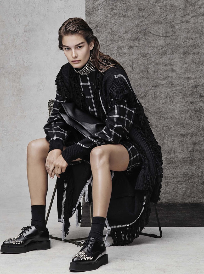 Photo Ophelie Guillermand by Jason Kibbler for The Edit October 2015