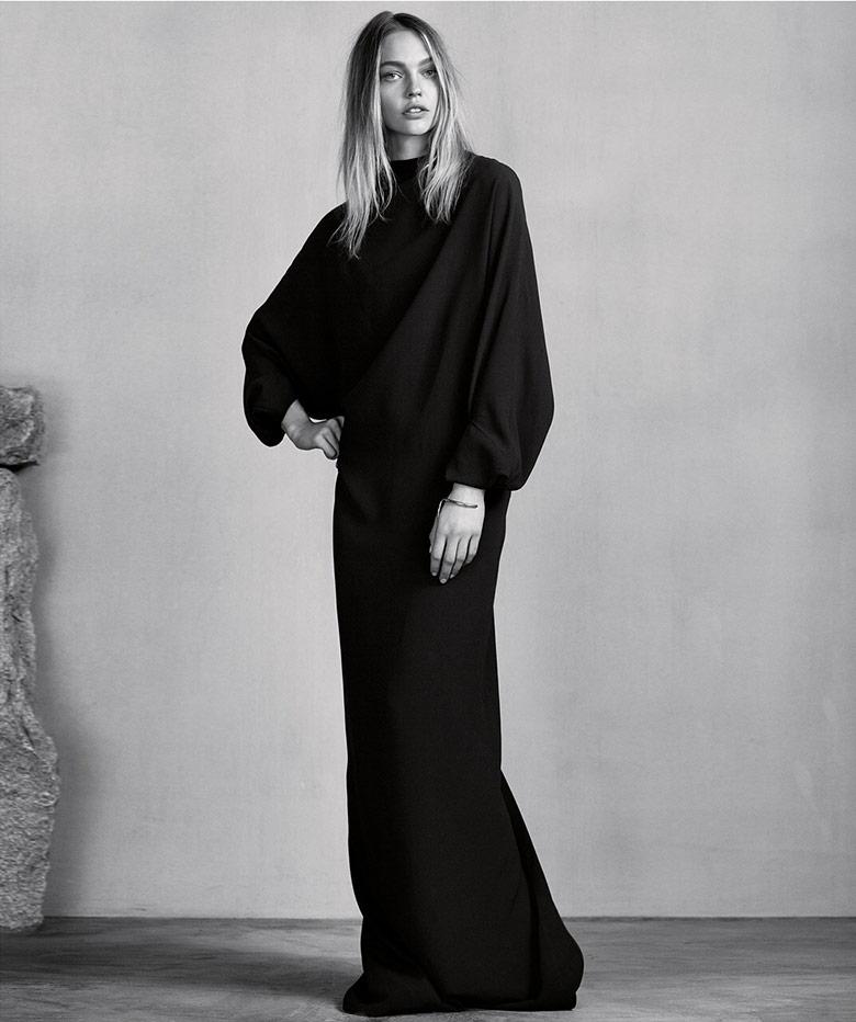Photo Sasha Pivovarova by Erik Torstensson for Porter Winter 2015