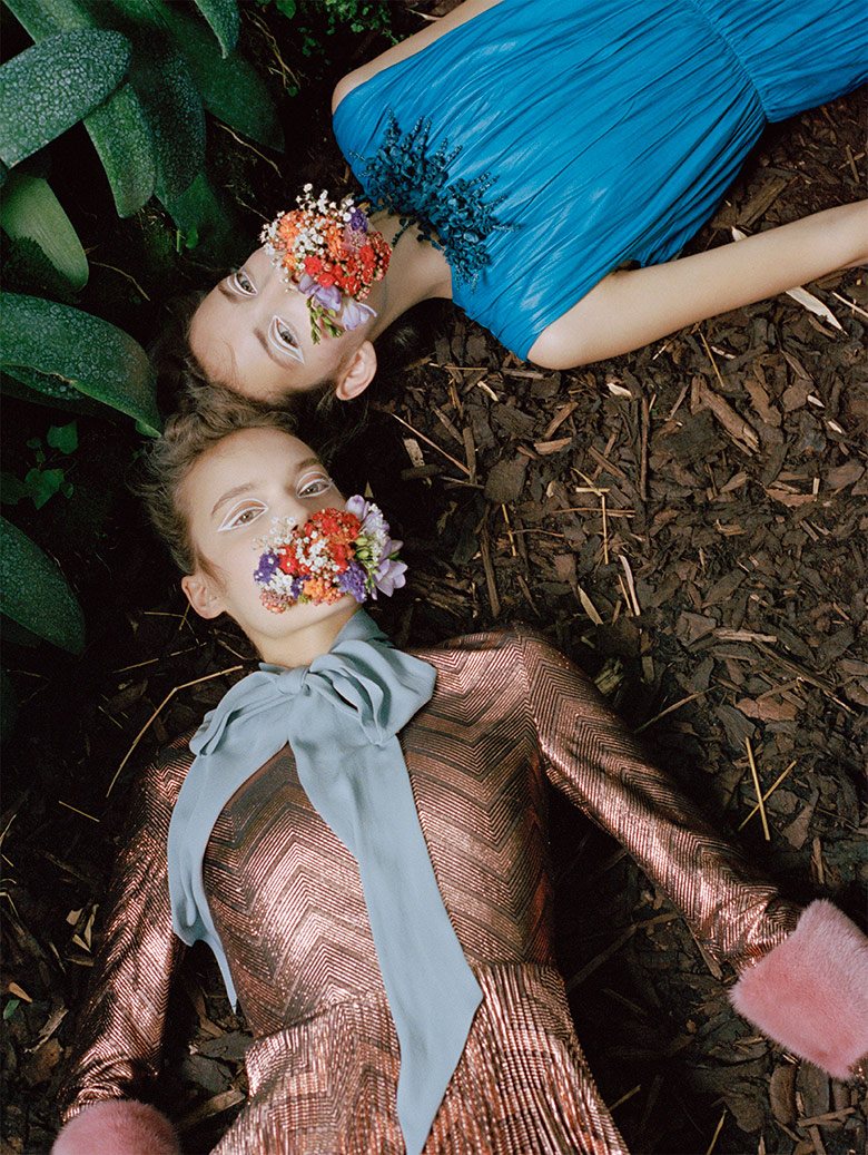 Photo Shanna Jackway, Clementine Deraedt, Eliza Thomas for Numero October 2015
