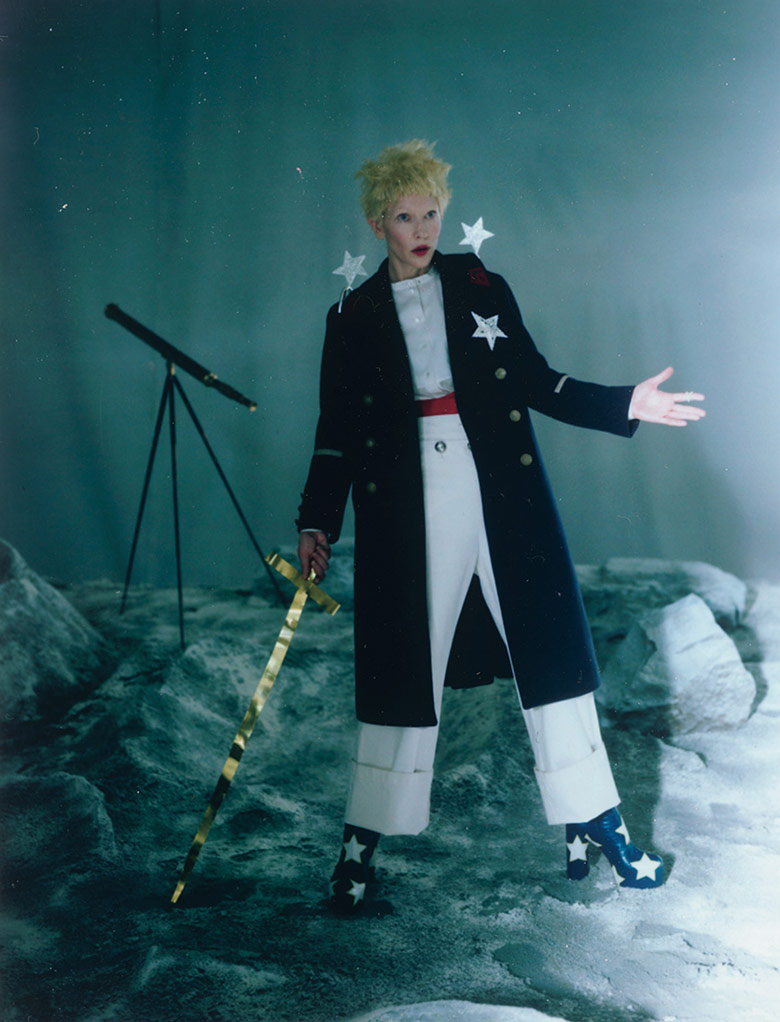 Photo Cate Blanchett by Tim Walker for W Magazine December 2015