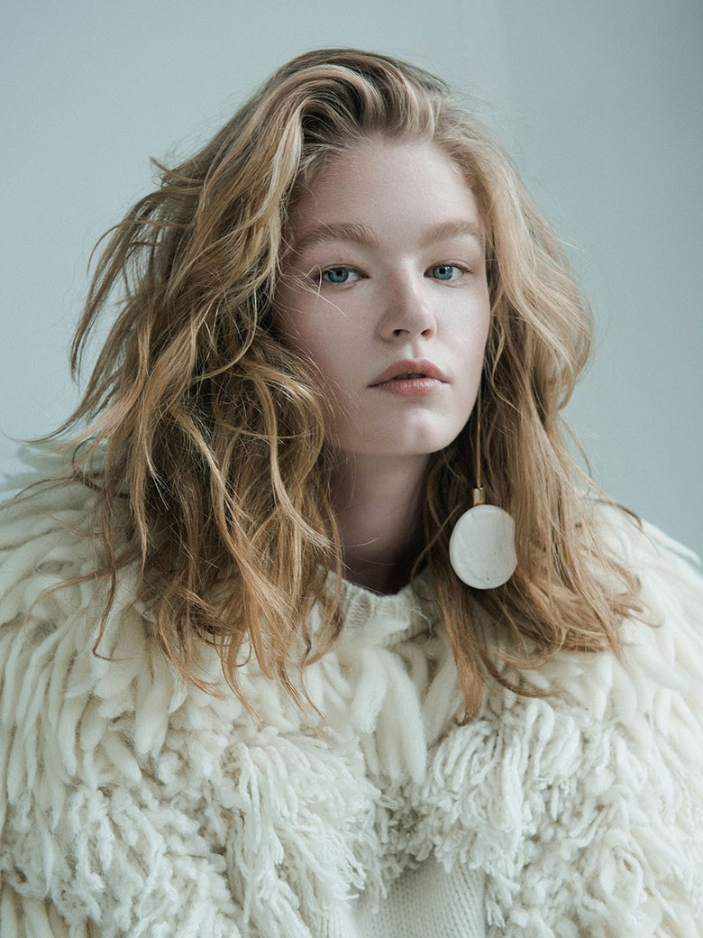 Photo Hollie May Saker by Matthew Priestley for W November 2015
