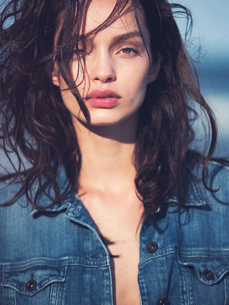 Photo Luma Grothe by David Bellemere for Marie Claire Italia November 2015