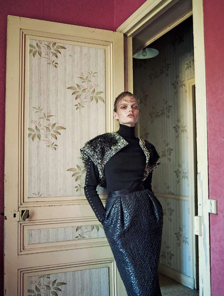Photo Marthe Wiggers by Marcin Tyszka for Marie Claire Italia November 2015