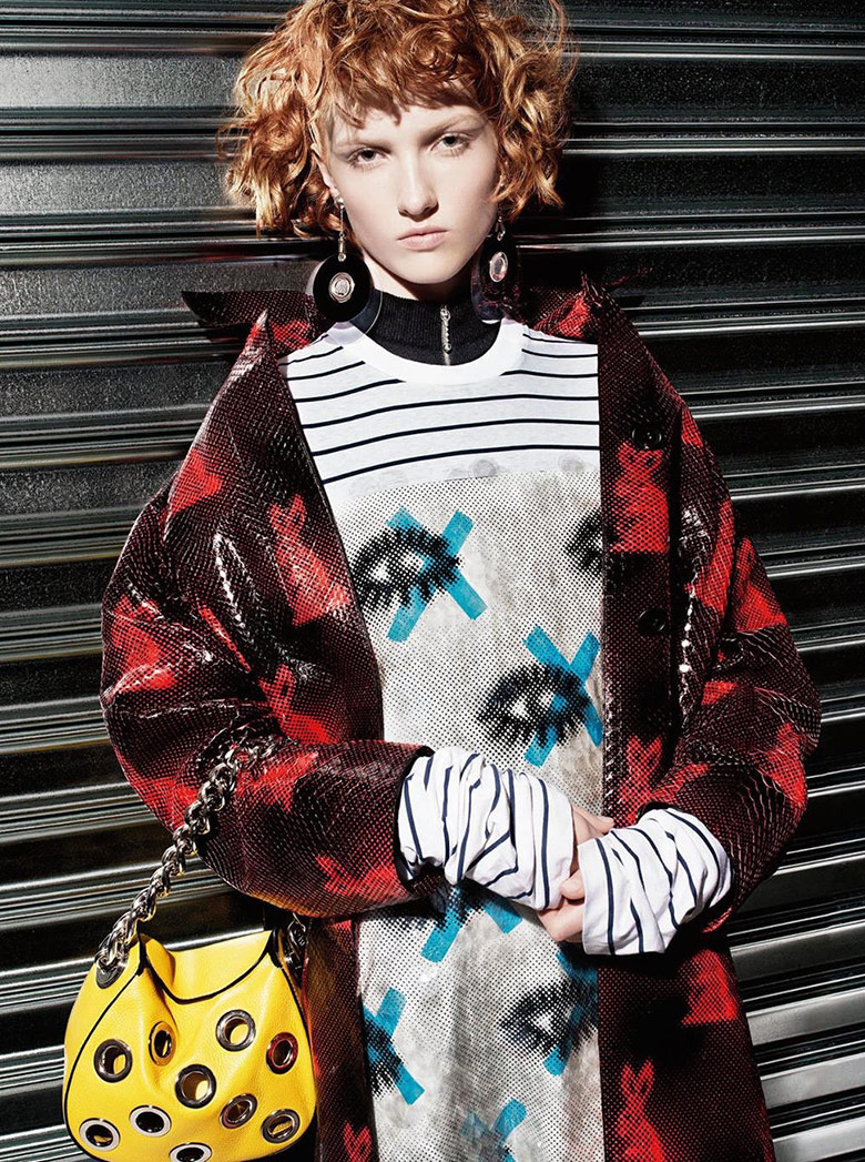 Photo Prada Resort 2016 Campaign