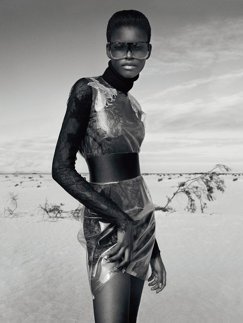 Photo Amilna Estevao by Txema Yeste for Numero December/January 15/16
