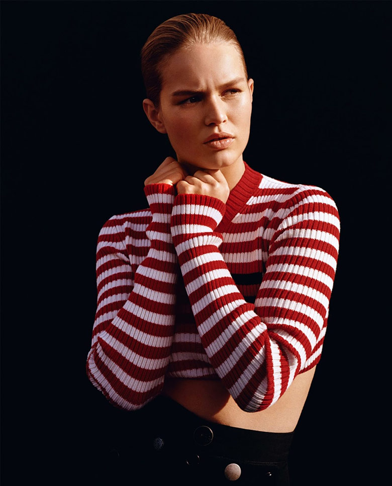Photo Anna Ewers by Alasdair McLellan for Vogue UK January 2016