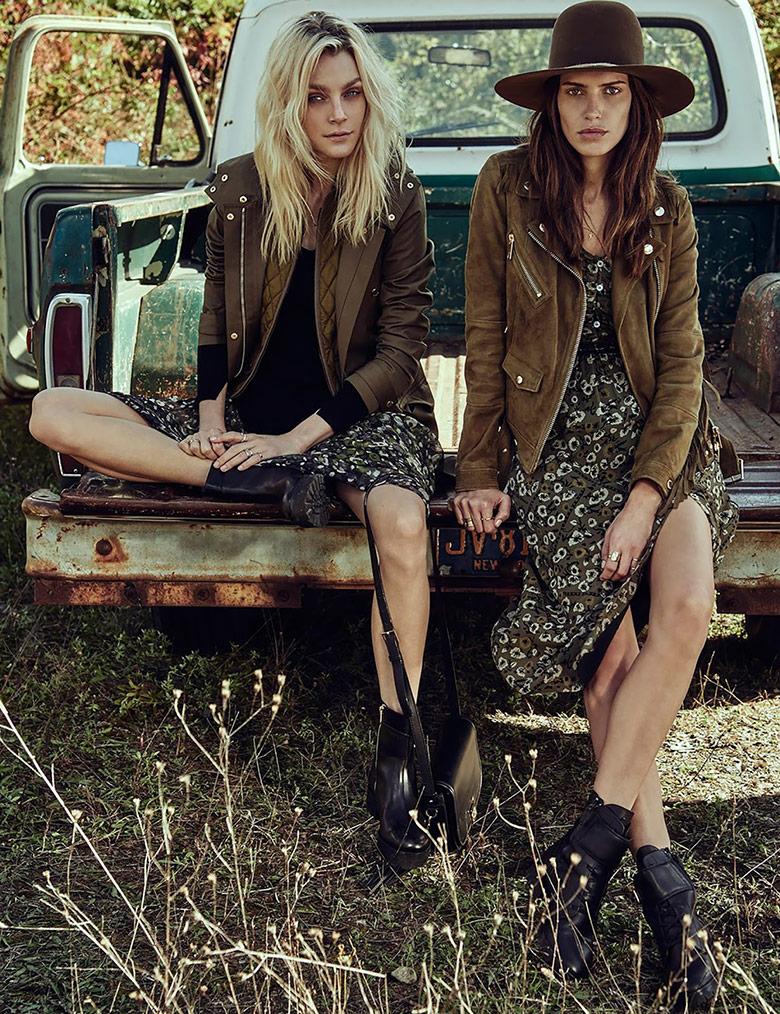 Photo Jessica Stam & Amanda Wellsh for W Magazine December 2015
