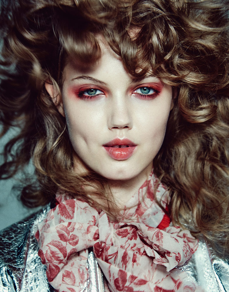Photo Lindsey Wixson by Chris Colls for The Edit November 2015