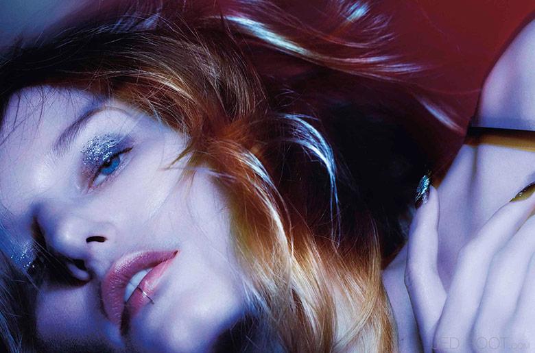 Photo Marique Schimmel by Jonas Bresnan for Stylist France December 2015