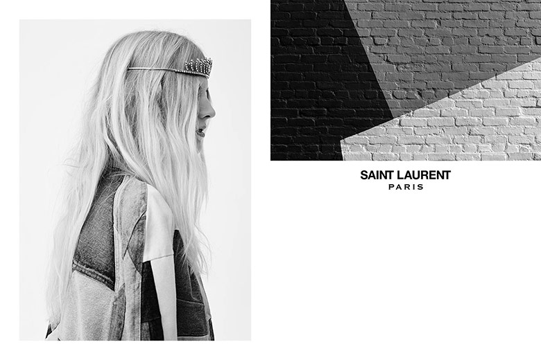 Photo Saint Laurent S/S 2016 by Hedi Slimane