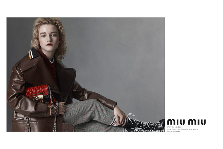 Photo Miu Miu S/S 2016 Campaign by Steven Meisel