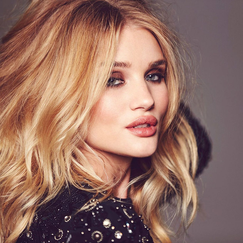 Photo Rosie Huntington Whiteley for Glamour UK February 2016