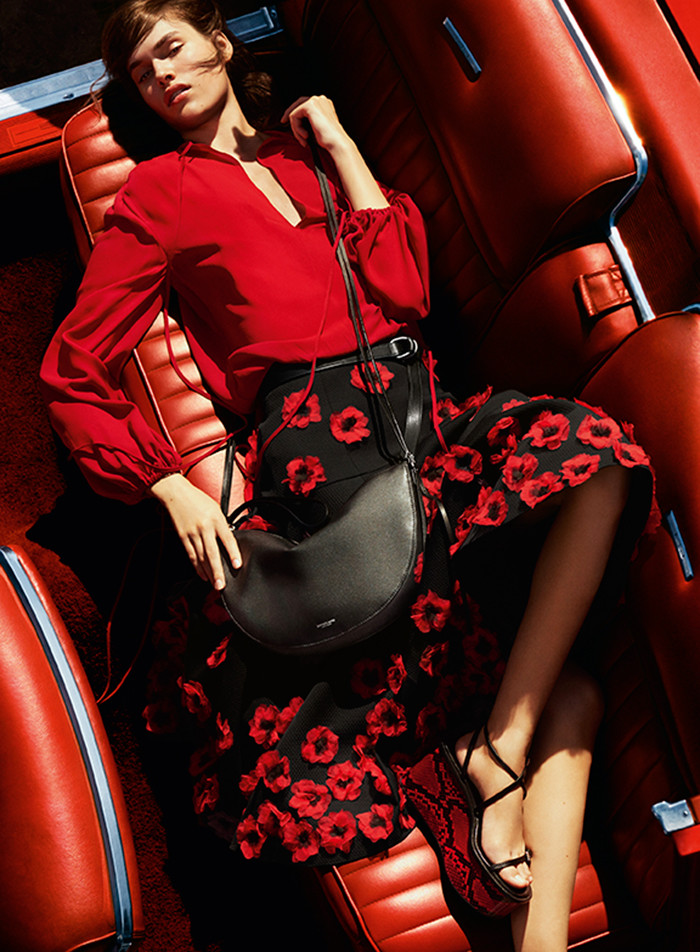 Photo Vanessa Moody by Mario Testino for Michael Kors S/S 2016