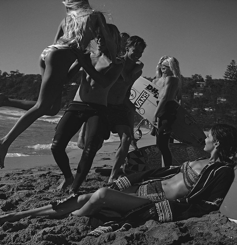 Photo Amanda Wellsh by Benny Horne for Vogue Australia February 2016