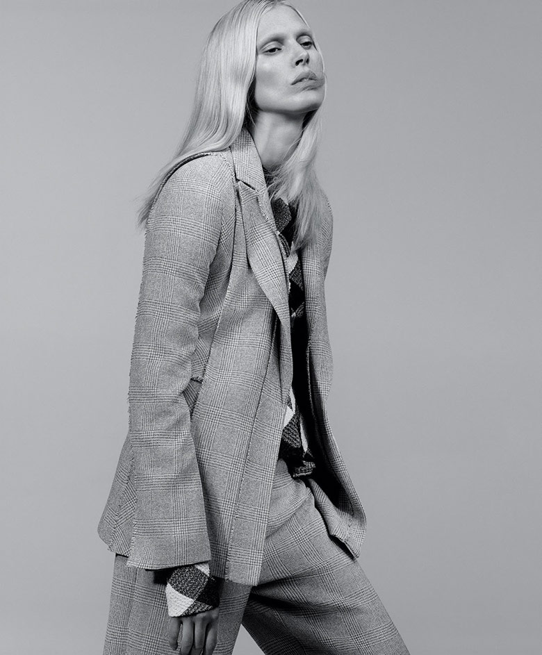 Photo Iselin Steiro by Craig McDean for T Magazine Spring 2016