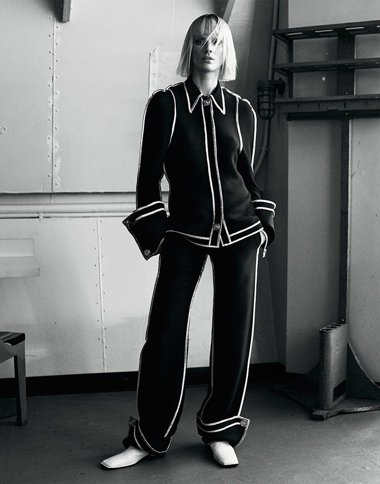 Photo Iselin Steiro by Josh Olins for Vogue UK March 2016