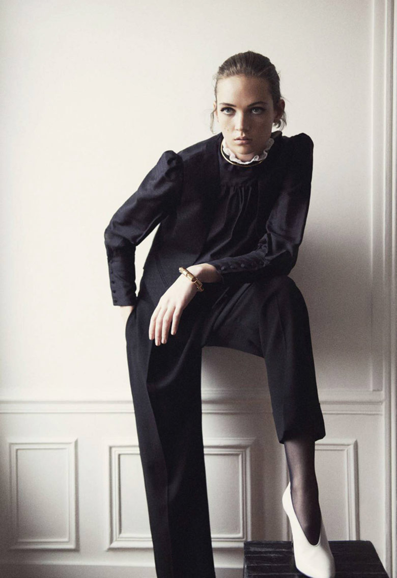 Photo Adrienne Juliger by Claudia Knoepfel for Vogue Paris April 2016