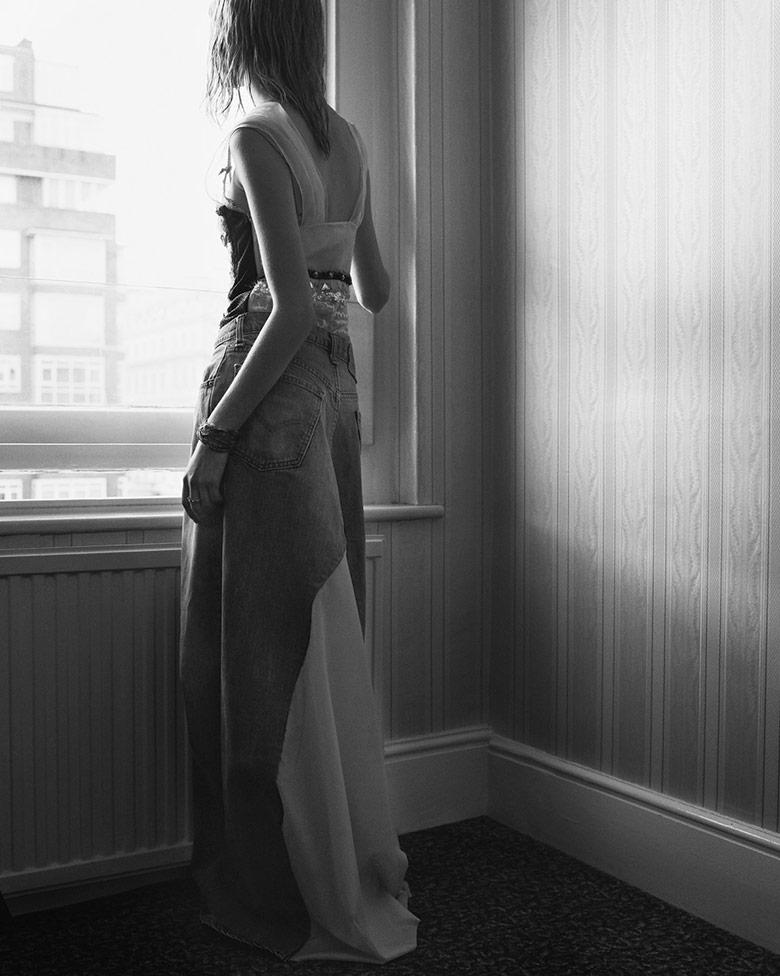 Photo Estella Boersma by Nick Dorey for Rika Magazine S/S 2016
