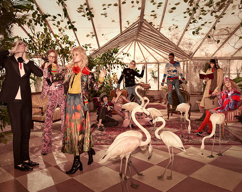 Photo Gucci Pre Fall 2016 by Glen Luchford